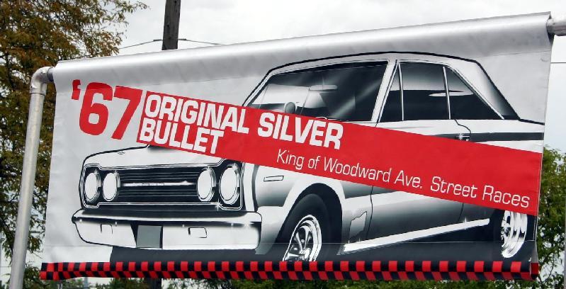 Silver Bullet, gtx, woodward street racing