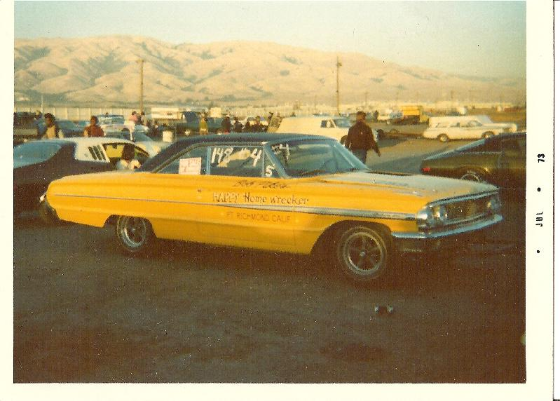 Nostalgia Drag Racer: 1964 Ford Galaxie from early 70's